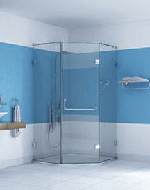 Shower Glass Hardware