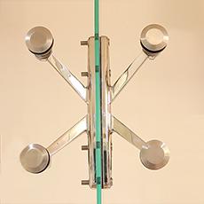 Glass Door Spiders & Canopy Fittings