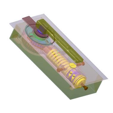 Single Cylinder Floor Spring for Wood/Aluminium/Glass Door
