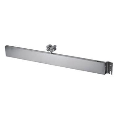 Upper door strip (hinge roller)