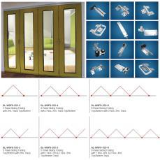 For Framed/Wooden Doors