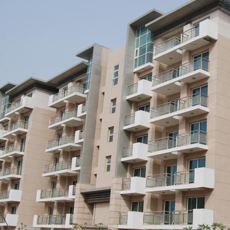 Balcony Railing,Project at Common Wealth Games Village,