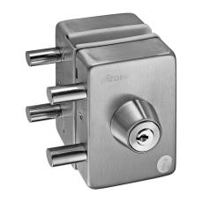 Center Patch Lock with Strike Plate
