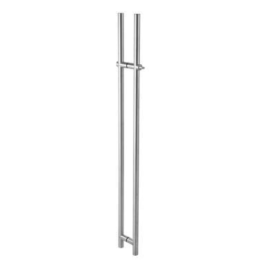 Glass Door Handle with Locking Function