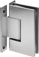 Wall to Glass Hinge 90° (with H plate)