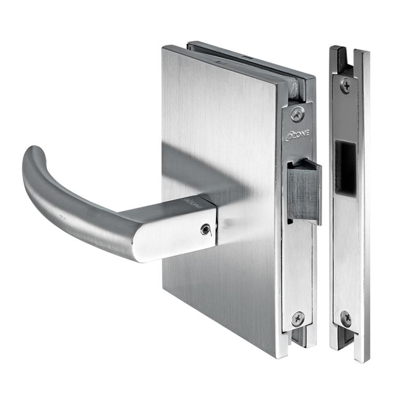 door strike plate glass door lock with latch bolt amp strike plate osspl latch 3430