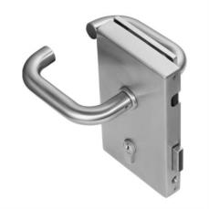 Verticle Glass Door Lock With Magnetic Strike