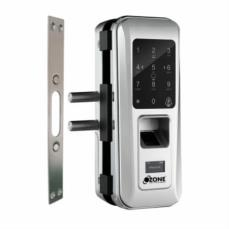 Fingerprint Digital Glass Door Lock with 4-in-1 access (Glass to Wall)