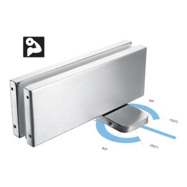 Hydraulic Patch for Glass Door