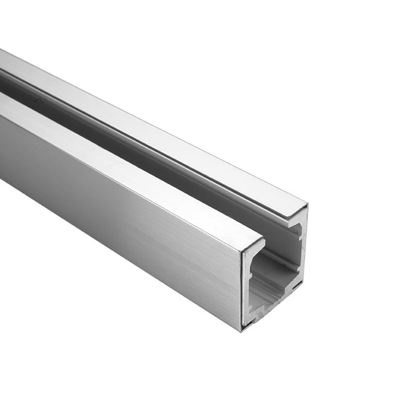 Aluminium Anodized Track with Stainless Steel Cover