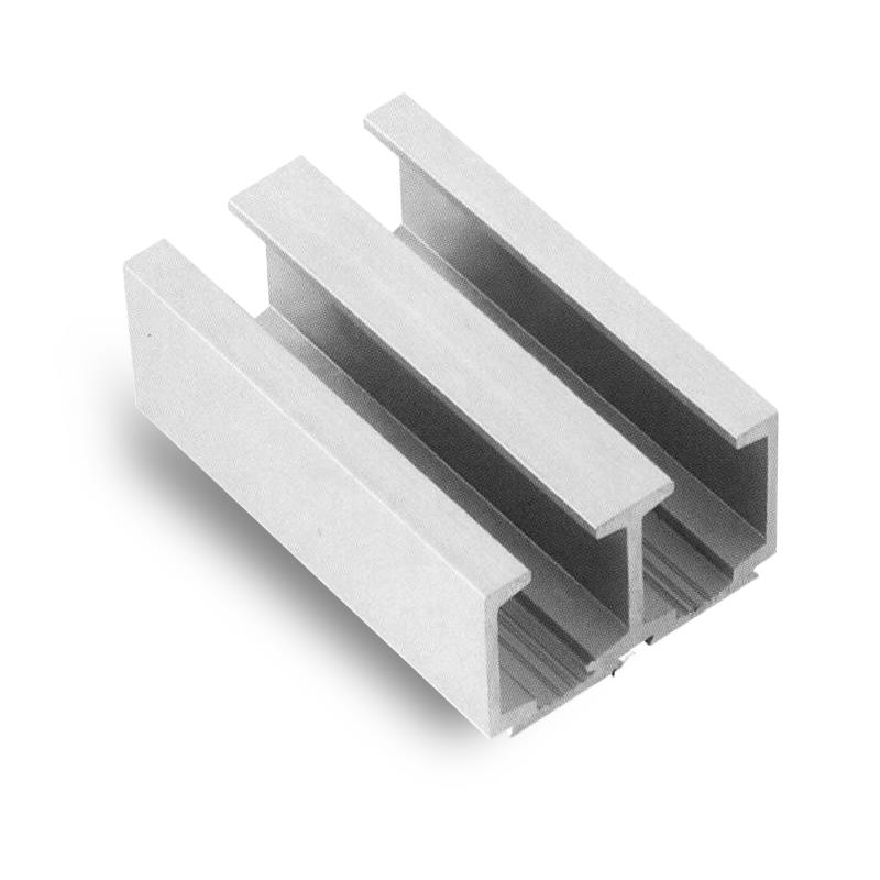 Aluminium Anodized Track (Double Door)