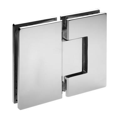 Glass to Glass Hinge 180°