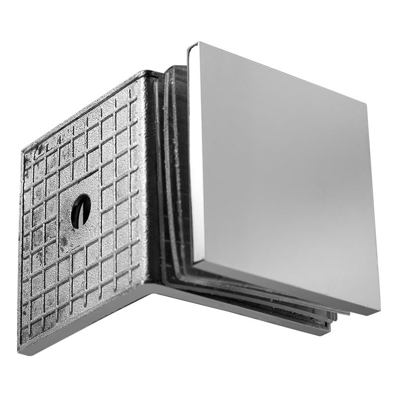 Wall to Glass Connector 90°